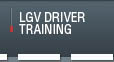 LGV Driver Training